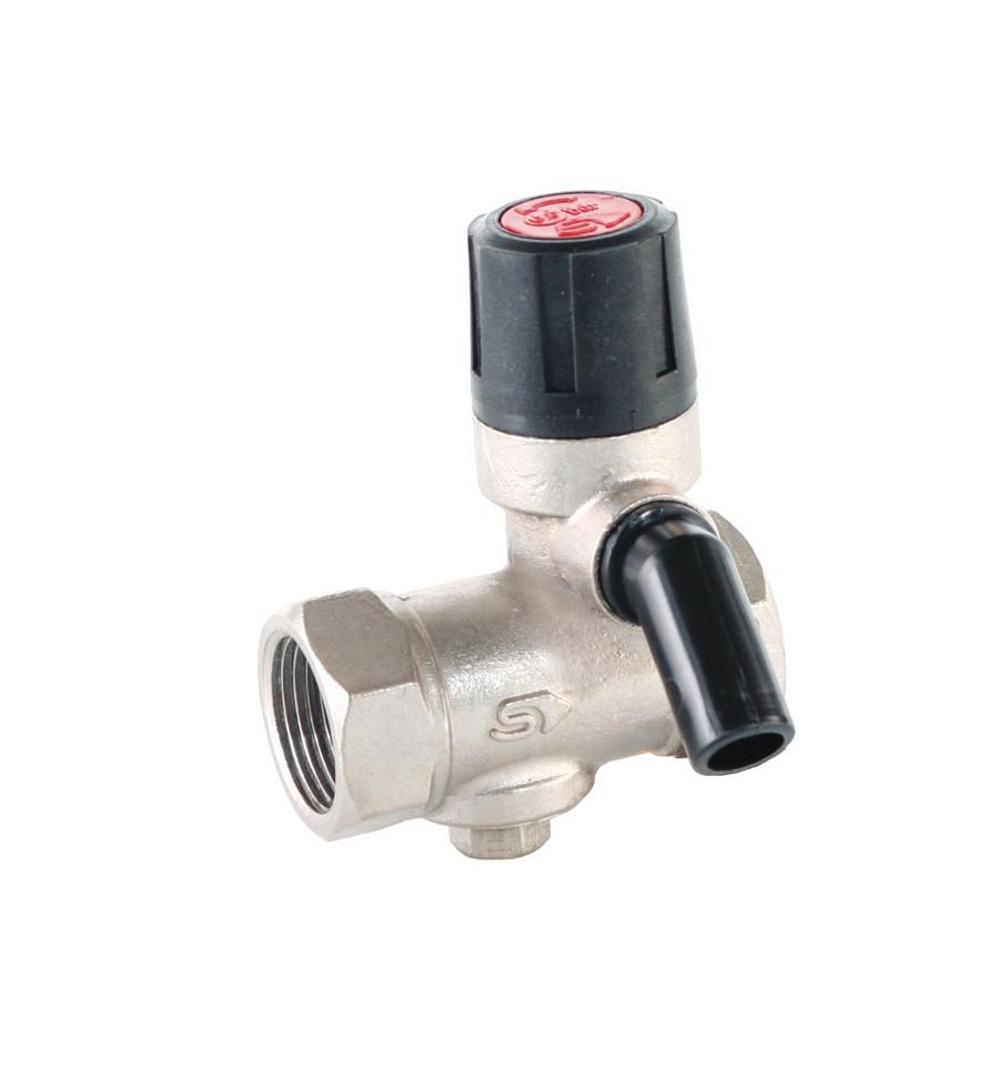 предохранительный клапан на водонагревателе схема