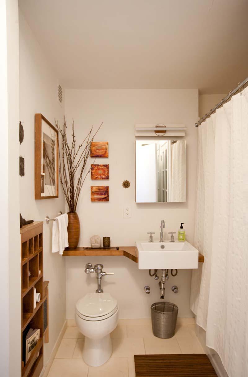 Дизайн маленькая ванная и туалет