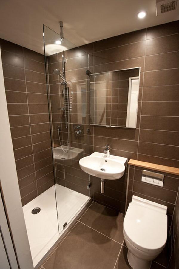 Совмещенная душевая с туалетом дизайн фото