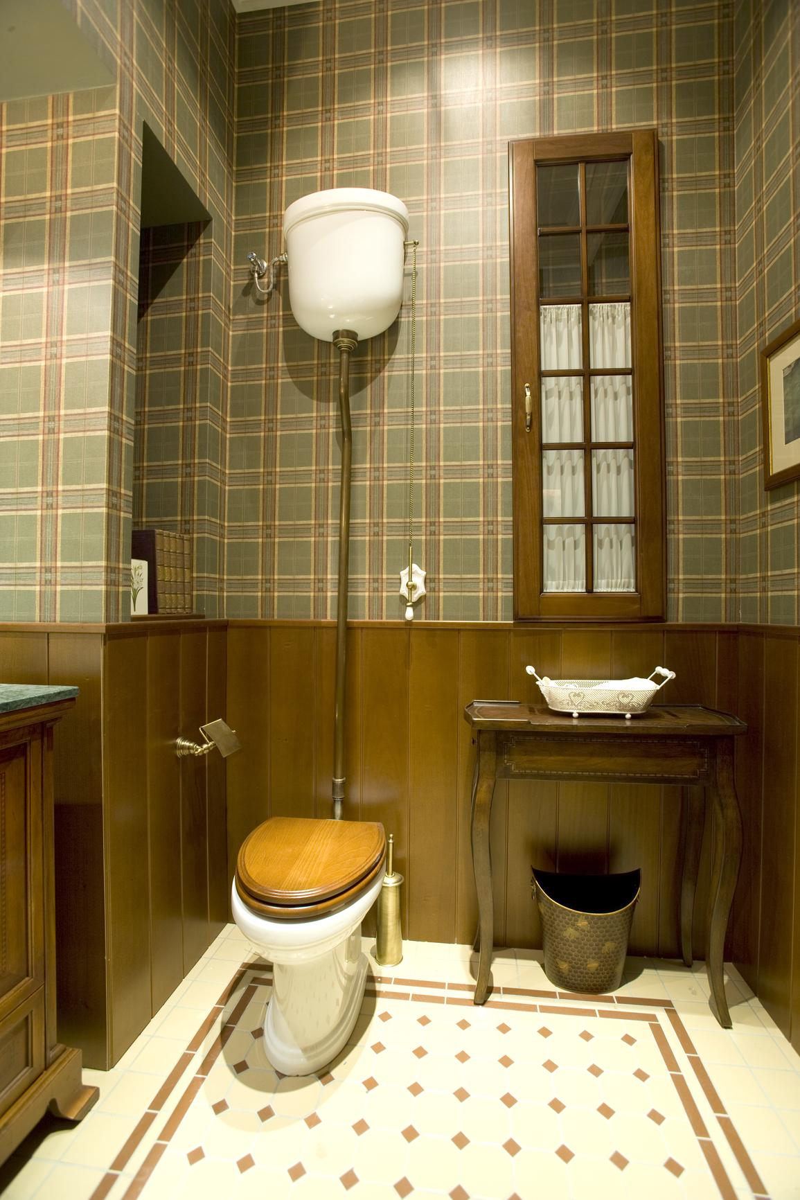 Дизайн туалетов панелями в квартире