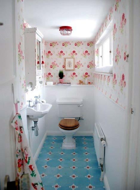 Как красиво сделать туалет с ванной