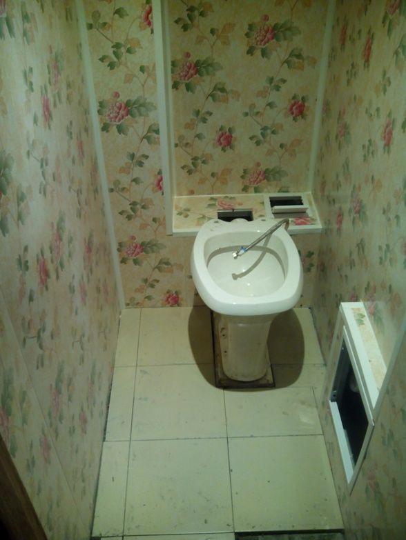 дизайн туалета панелями 7