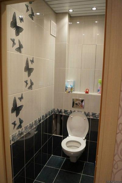 Ремонт в ванной и туалете