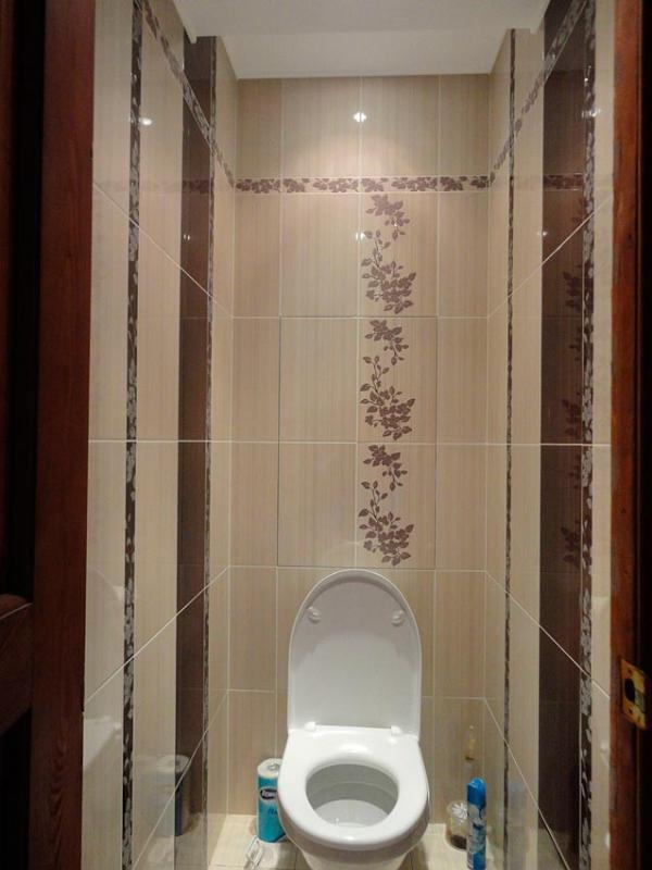 Туалет фото дизайн плитка