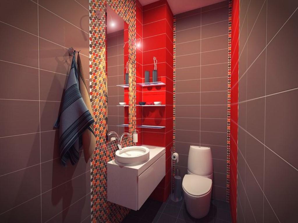 Дизайн ванной комнаты с туалетом в кв