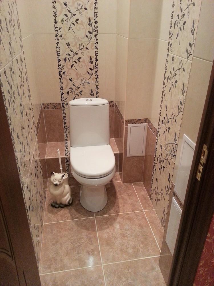 дизайн туалета в хрущевке 7