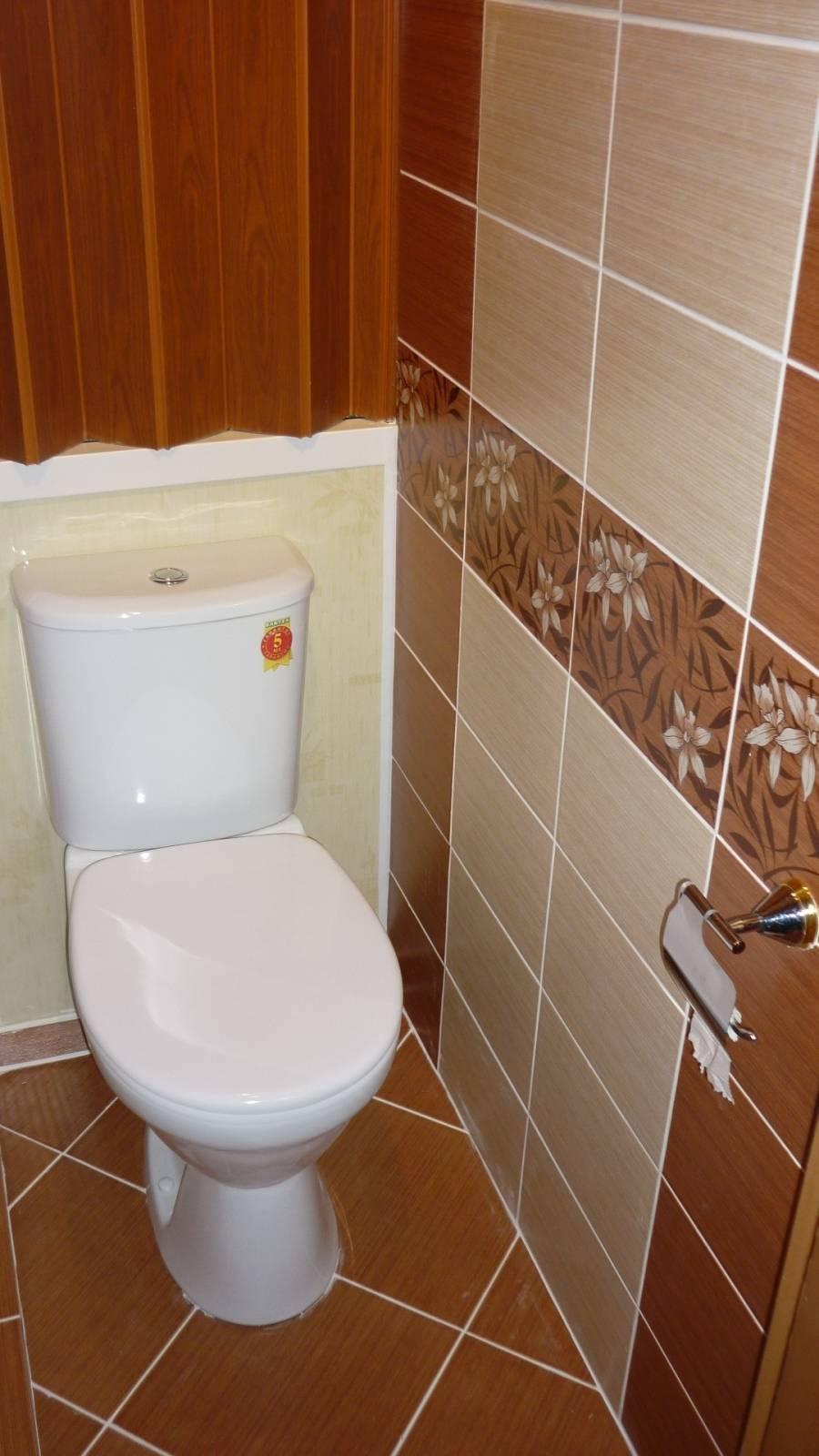 Кафель для туалета: видео-инструкция по монтажу