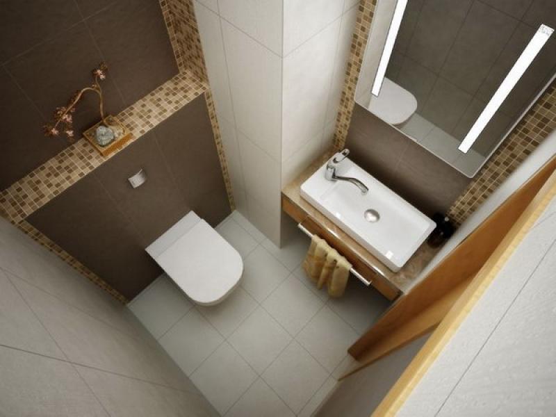 туалет под кирпич фото