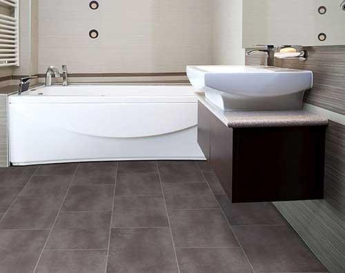 плитка на пол в ванной фото