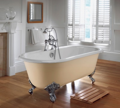 Ламинат в ванной  водостойкого типа