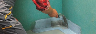 Подготовительные работы к гидроизоляции ванной