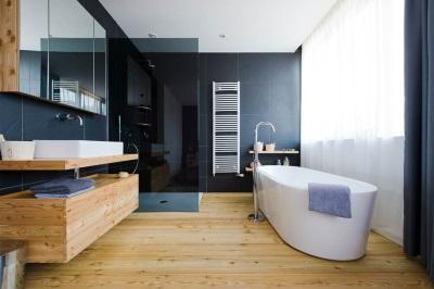 Водостойкий ламинат для ванной