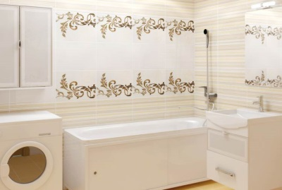 Самоклеющаяся пленка в ванной