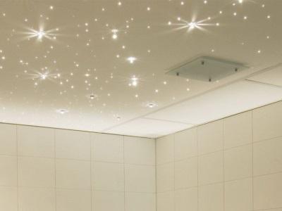 Потолок совмещенного санузла