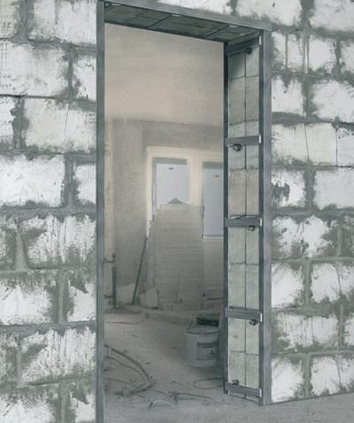Уменьшение дверного проема гипсокартоном