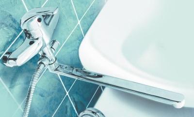 Комбинированные смесители для ванной