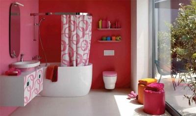 Совмещенный санузел - покраска стен