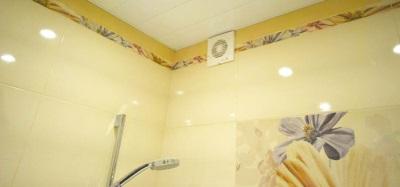 Вентиляция в ванной - вентилятор