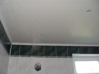 Навесные потолки из панелей ПВХ