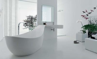 Мнтересная форма ванны