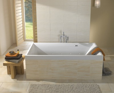 Большая ванна преимущества