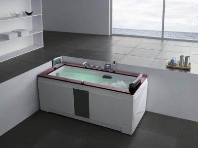 Экран под ванну сплошной белый
