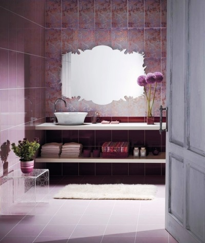 Фиолетовая ванная - классика