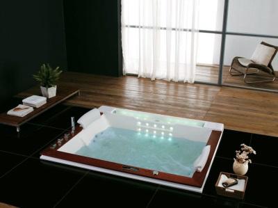 ванна с гидромассажем дома
