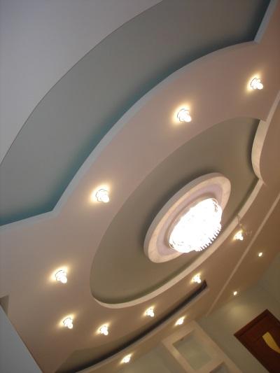 Подготовительные работы на потолочной поверхности