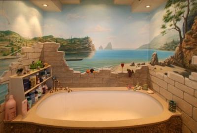 Крепление ванны к стене
