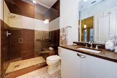 Базовый способ оформления ванной плиткой