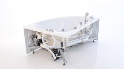 Подсоединение к водоснабжению гидромассажной ванны