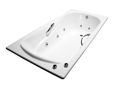 Чугунная гидромассажная ванна