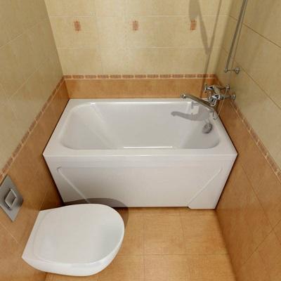 маленькая чугунная ванна