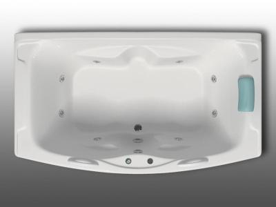 Ванная из акрила с гидромассажем