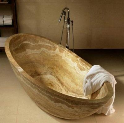 Ванны из мрамора достоинства