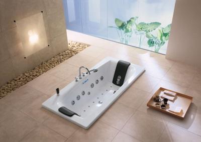стальная ванна с гидромассажем