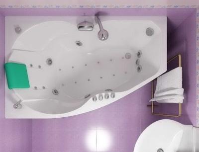 Гидромассажная ванна, повторяющая форму человеческого тела