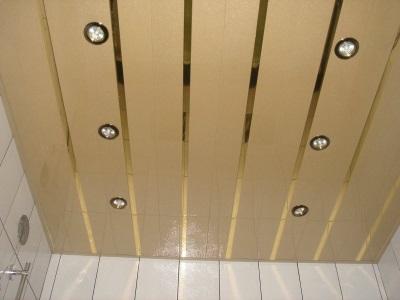 потолочные панели реечные