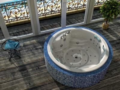 акриловая ванна сложной формы