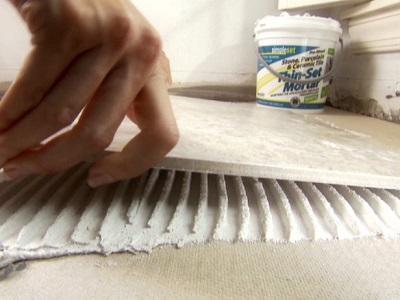 Готовый клей для плитки