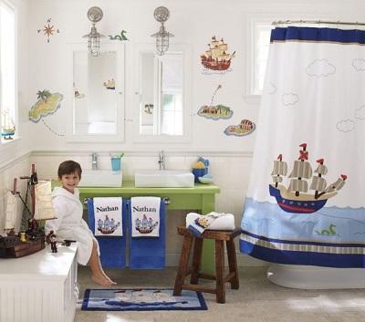 Детские коврики для ванной комнаты