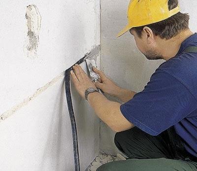 Монтаж электропроводки в ванной комнате