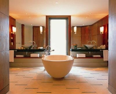 Светильники в ванной