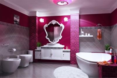 3-D визуализация ванной комнаты