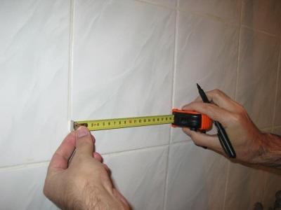 Расчет количества плитки для стены