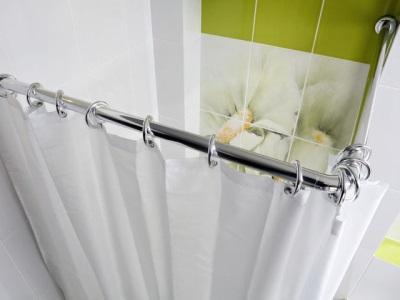 Угловая штанга для ванной