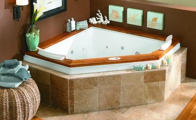 Прямоугольная угловая ванная