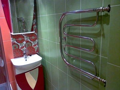 змеевик в ванной