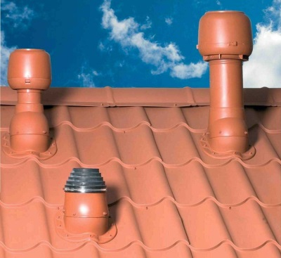 Вывод системы вентиляции на крышу